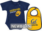 California Golden Bears Colosseum NCAA Newborn Dribble Creeper Bib Set Infant Apparel