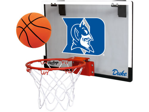 Duke Blue Devils Jarden Sports Game On Polycarb Hoop Set