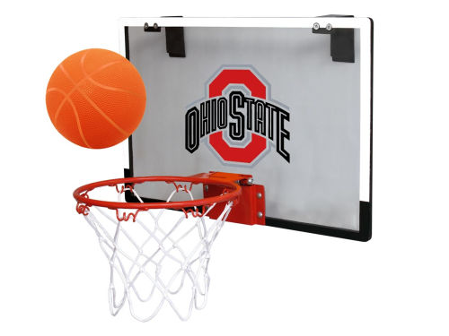 Ohio State Buckeyes Jarden Sports Game On Polycarb Hoop Set