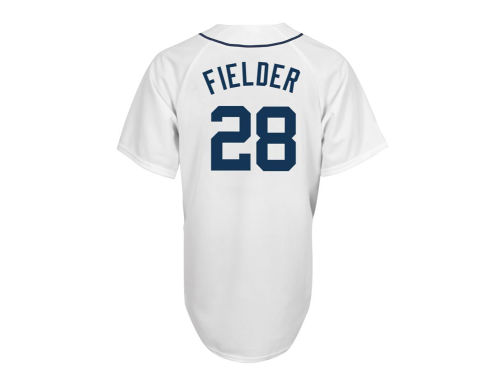 Detroit Tigers Prince Fielder Majestic MLB Youth Player Replica Jersey
