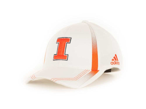 Illinois Fighting Illini Adidas Sideline Flex Cap Hats