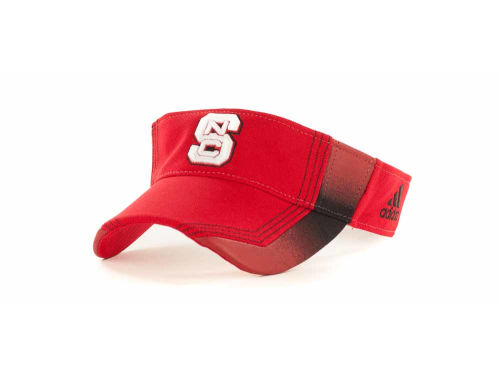 North Carolina State Wolfpack NCAA Adidas Sideline Visor Hats