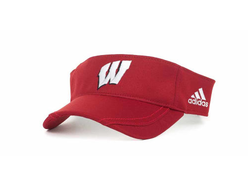 Wisconsin Badgers NCAA Adidas Coaches Visor 2012 Hats