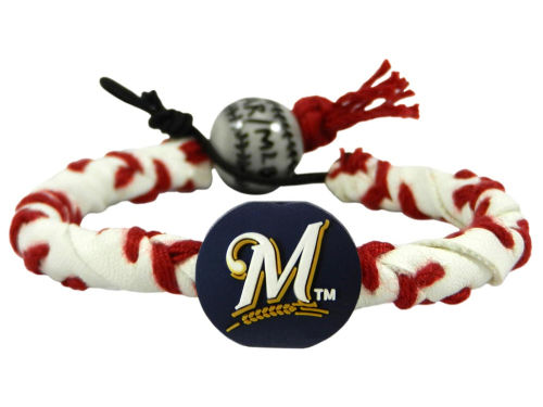Milwaukee Brewers Frozen Rope Bracelet