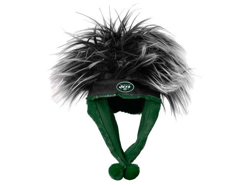 New York Jets Troll Hair Dangle Hat