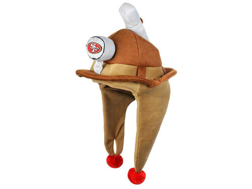 San Francisco 49ers Plush Mascot Dangle Hat