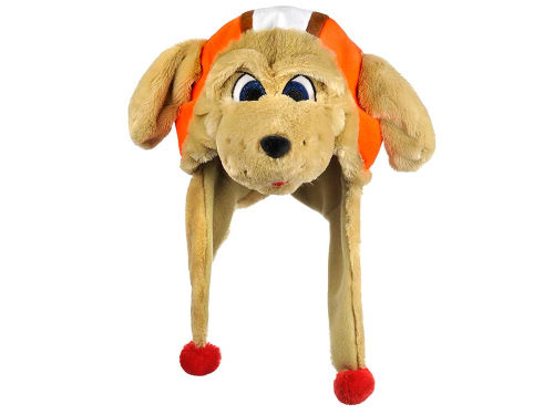 Cleveland Browns Forever Collectibles Plush Mascot Dangle Hat