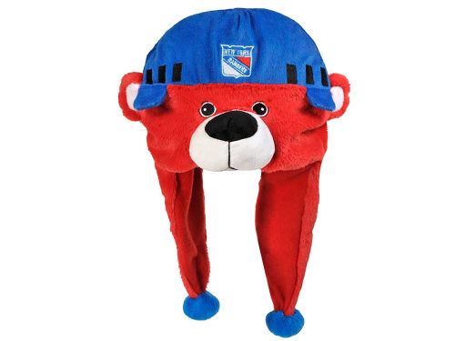 New York Rangers Forever Collectibles Plush Mascot Dangle Hat