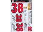 Graham Rahal Graham Rahal Wincraft Racing Team/Player Decal Sheet Auto Accessories