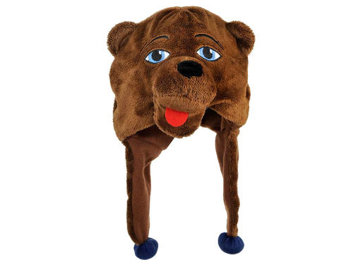 UCLA Bruins Plush Mascot Dangle Hat