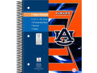 Auburn Tigers 3 Subject Notebook Home Office & School Supplies