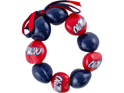 Mississippi Rebels Kukui Nut Lei