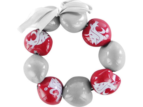 Washington State Cougars Kukui Nut Lei