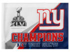 New York Giants Rico Industries Super Bowl XLVI Champs Car Flag Auto Accessories