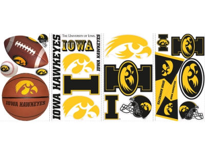 NCAA Peel And Stick Wall Decal Sheet