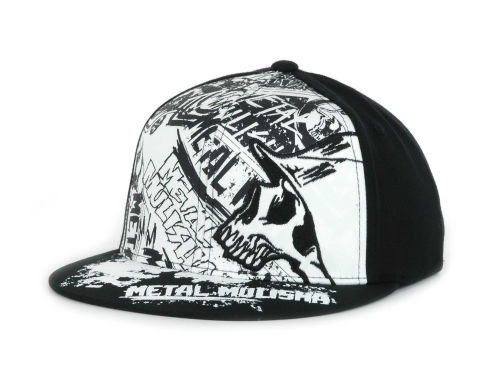 Metal Mulisha Flooded Flat Flex Cap Hats