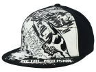 Metal Mulisha Flooded Flat Flex Cap Stretch Fitted Hats