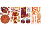 Iowa State Cyclones NCAA Peel And Stick Wall Decal Sheet Bumper Stickers & Decals