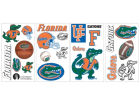 Florida Gators NCAA Peel And Stick Wall Decal Sheet Bumper Stickers & Decals