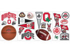 Ohio State Buckeyes NCAA Peel And Stick Wall Decal Sheet Bumper Stickers & Decals