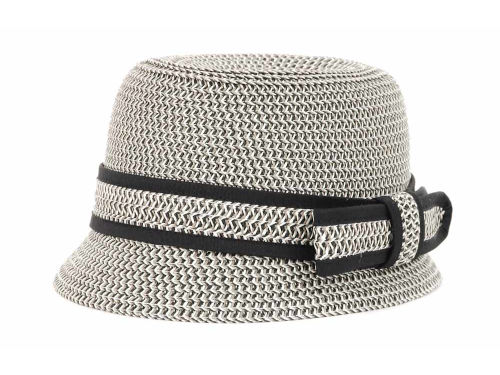 LIDS Private Label PL Straw Patterned Cloche Hats
