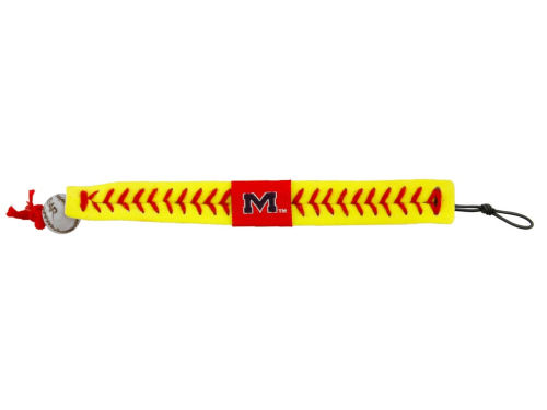 Mississippi Rebels Softball Bracelet