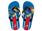 Kansas Jayhawks Big Logo Flip Flop NCAA Apparel & Accessories