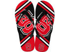 North Carolina State Wolfpack Forever Collectibles Big Logo Flip Flop NCAA Apparel & Accessories