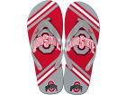 Ohio State Buckeyes Forever Collectibles Big Logo Flip Flop NCAA Apparel & Accessories