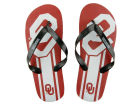 Oklahoma Sooners Forever Collectibles Big Logo Flip Flop NCAA Apparel & Accessories