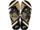 Purdue Boilermakers Forever Collectibles Big Logo Flip Flop NCAA Apparel & Accessories