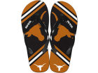 Texas Longhorns Forever Collectibles Big Logo Flip Flop NCAA Apparel & Accessories