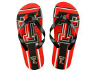 Texas Tech Red Raiders Forever Collectibles Big Logo Flip Flop NCAA Apparel & Accessories