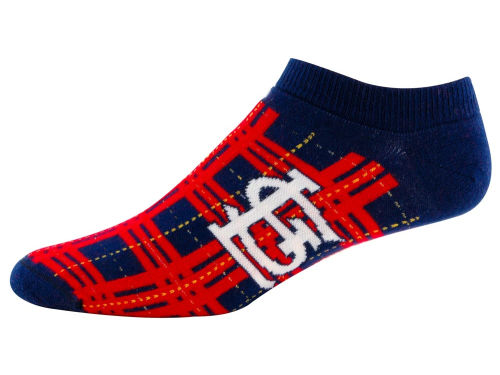 St. Louis Cardinals Highland Plaid Sock