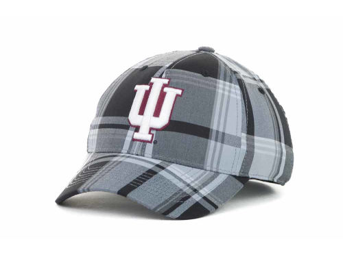 Indiana Hoosiers Top of the World NCAA The Plaidiator Cap Hats