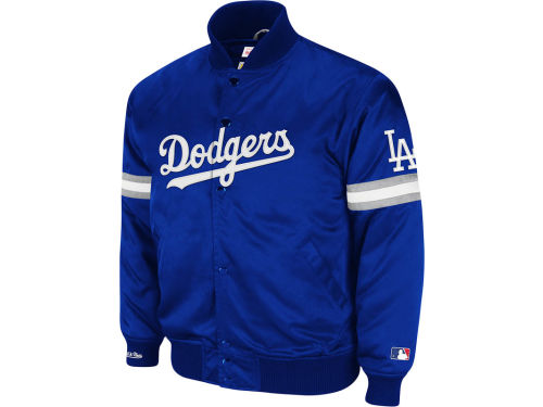 Los Angeles Dodgers Mitchell and Ness MLB Backup Satin Jacket
