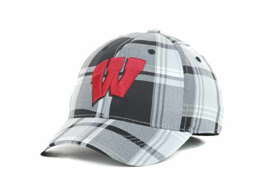 Wisconsin Badgers Top of the World NCAA The Plaidiator Cap Hats
