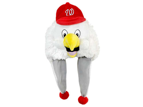 Washington Nationals Plush Mascot Dangle Hat