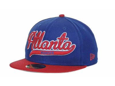 Atlanta Braves MLB Scripter 59FIFTY Hats