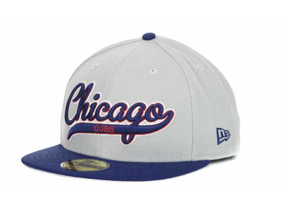 Chicago Cubs MLB Scripter 59FIFTY Hats