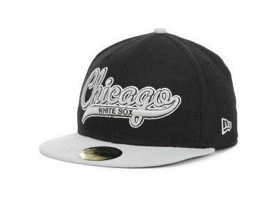 Chicago White Sox MLB Scripter 59FIFTY Hats
