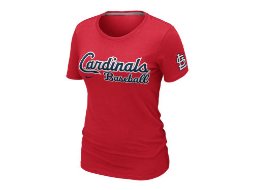 St. Louis Cardinals Nike MLB Womens Practice T-Shirt 2012