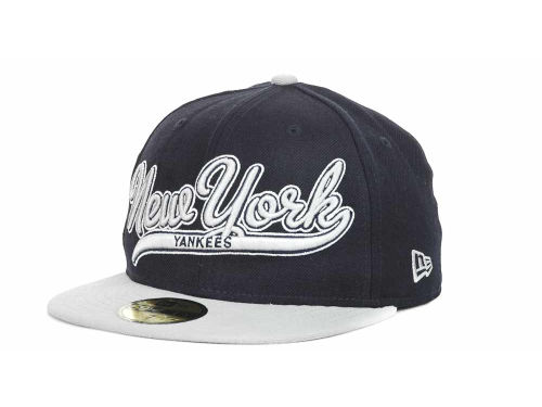 New York Yankees New Era MLB Scripter 59FIFTY Hats