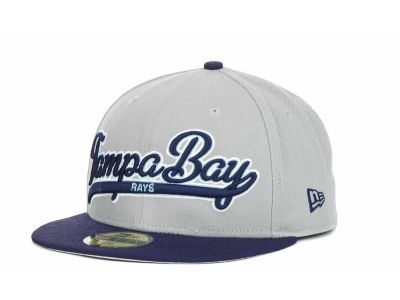 Tampa Bay Rays MLB Scripter 59FIFTY Hats