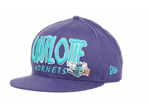 Charlotte Hornets New Era NBA Hardwood Classics Big 9FIFTY Snapback Hats