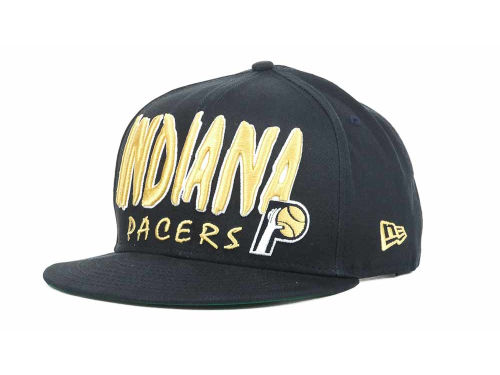 Indiana Pacers New Era NBA Hardwood Classics Big 9FIFTY Snapback Hats