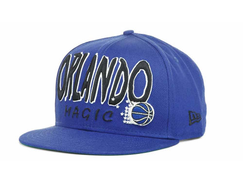 Orlando Magic New Era NBA Hardwood Classics Big 9FIFTY Snapback Hats