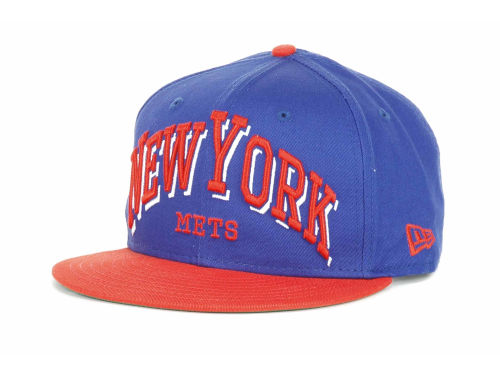 New York Mets New Era MLB Markup 9FIFTY Snapback Hats