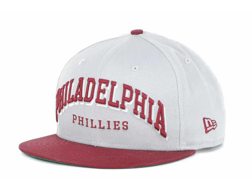 Philadelphia Phillies New Era MLB Markup 9FIFTY Snapback Hats