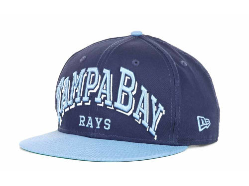 Tampa Bay Rays New Era MLB Markup 9FIFTY Snapback Hats